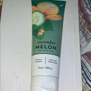 Bbw cucumber melon body cream